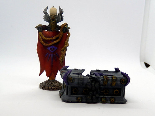Chaos temple or warlock altar with broken variant (Dungeons and Dragons)