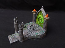 Fel portal/summoning stone or ritual altar (Dungeons and dragons, warhammer, fro