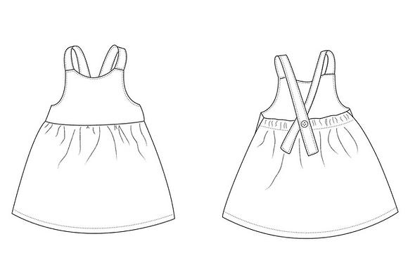 SALE Dungaree Dresses