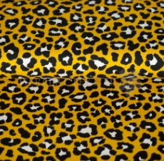 Yellow Leopard Bummies