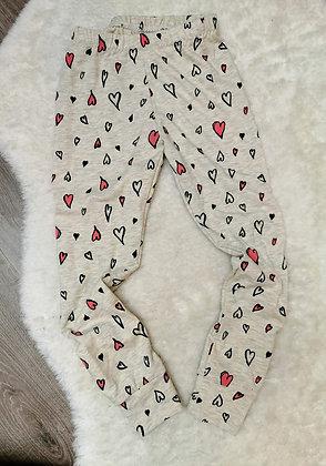 4-5 legging hearts