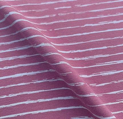 Pink Stripe Skirt