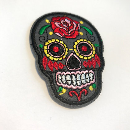 Grey Sugarskull Patch add on