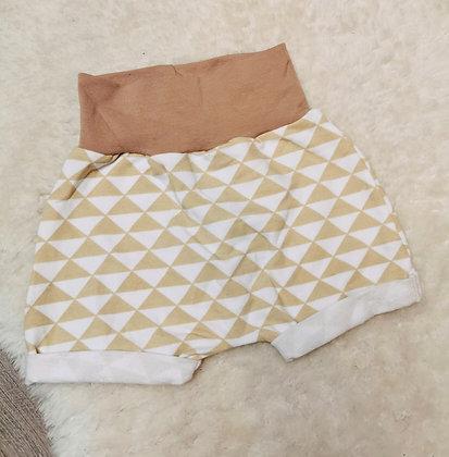Geo harem shorts 6-9m