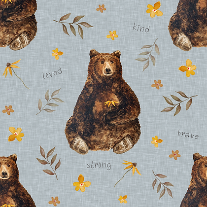 Kind Bear Pinafore