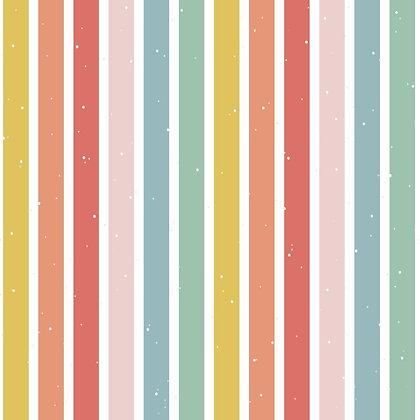 Rainbow Stripe Skirt
