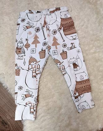 Festive leggings 6-9