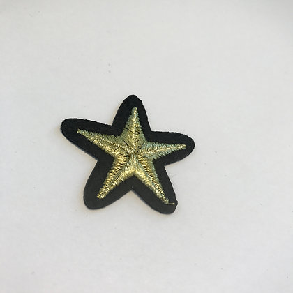 Small Gold Star Patch Add On