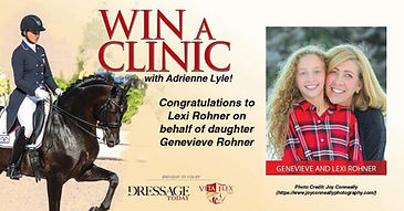 Adrienne win banner.JPG