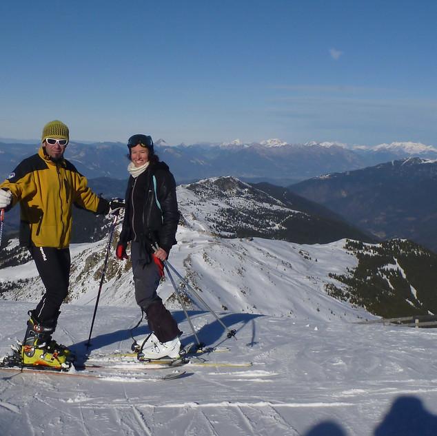 Ski aux Sept Laux