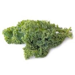 Chou kale vert