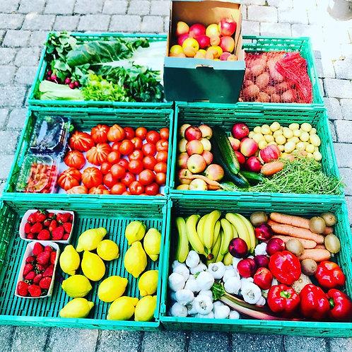 Panier fruits & légumes BIO 4kg