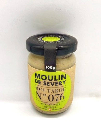 Moutarde aux olives noires