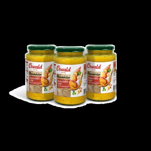 Soupe liquide à la patate douce Trésors de la Nature (lot de 3)