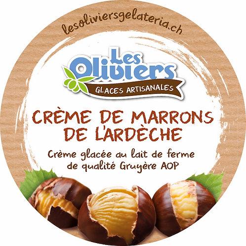 Sorbet Crème de Marrons de l'Ardèche