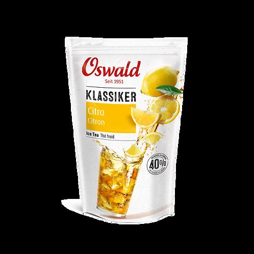 Thé froid au citron