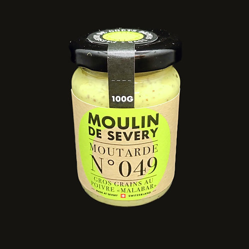 Moutarde Gros Grains au Poivre Malabar