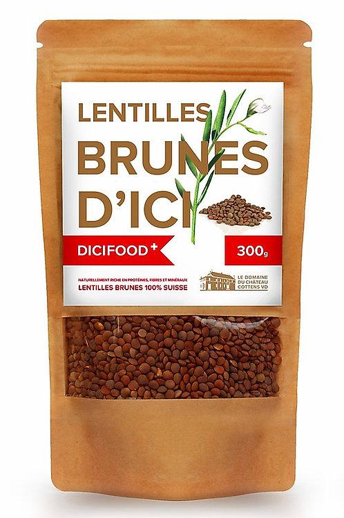Lentilles Brunes