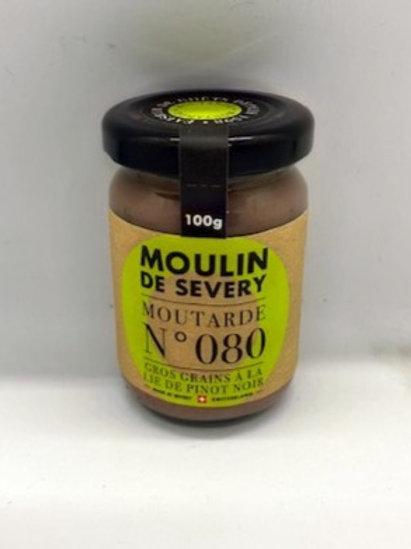 Moutarde Gros grains à la Lie de Pinot Noir