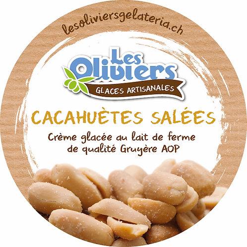 Glace crème de Cacahuètes salées