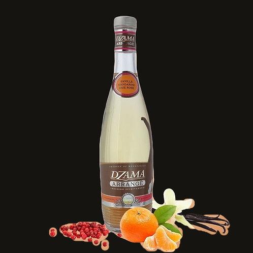 Rhum arrangé Vanille-Mandarine-Baie Rose
