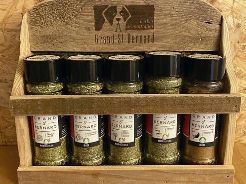 """Etagère Herbes de Rostal """"5 produits"""""""