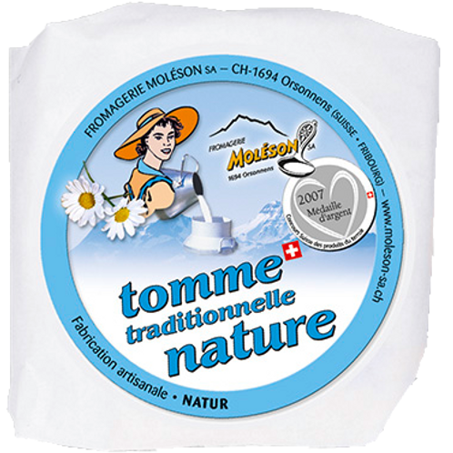 Tommes traditionnelle nature