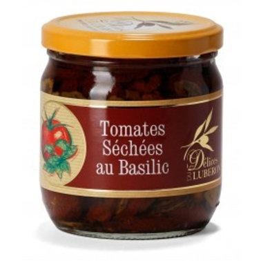 Tomates séchées au basilic