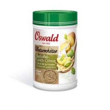 Crème de pomme de terre et poireaux