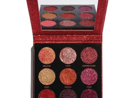 "Valentine's Day Pick of the Day!  Revolution Pressed Glitter Palette in ""Hot Pursuit"" + Glitter Glue"