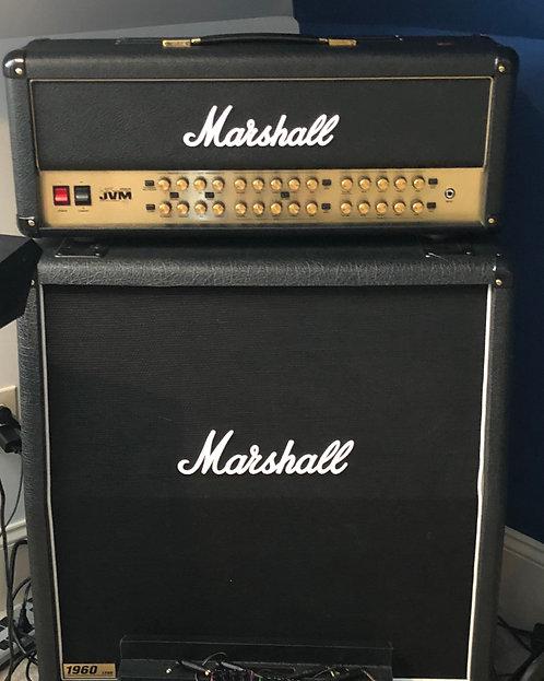 Joe Satriani Head and 4x4 Marshall
