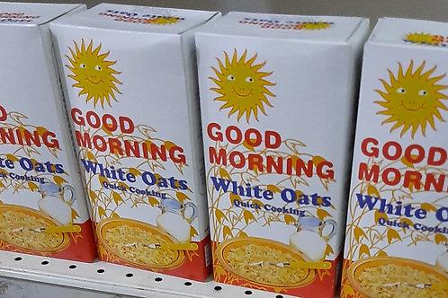 Good morning White Oats