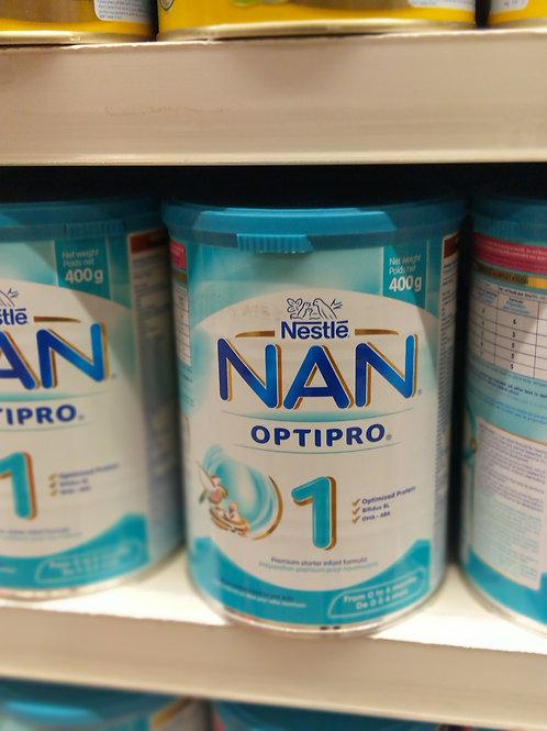Nestle Nan 1 - 3  400g BOX