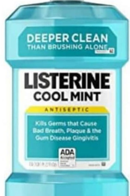 Listerine cool mint mouth Wash 1L