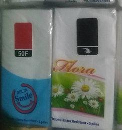 Flora Packet Tissue