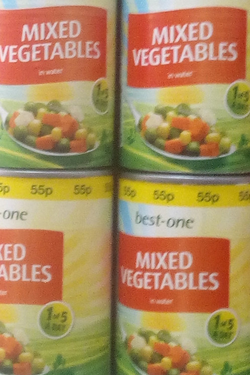 Best one Mix Vegetables