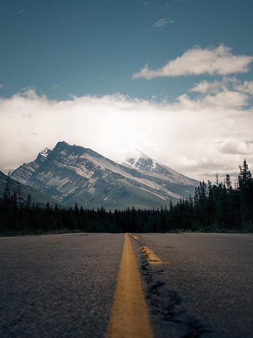 Icefield Parkway Road
