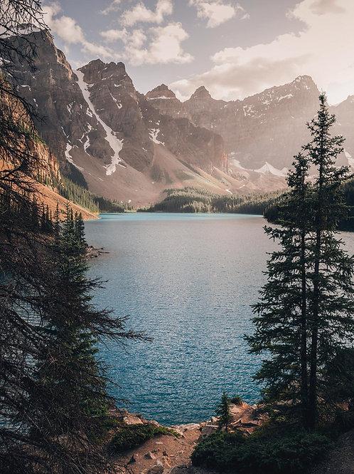 Moraine Lake Sunlight