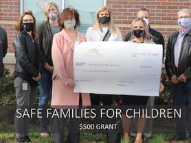 Safe Families for Children Awarded $500