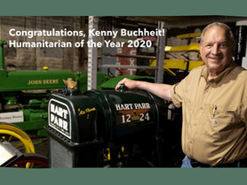 Kenny Buchheit Named 2020 PCCF Humanitarian of the Year