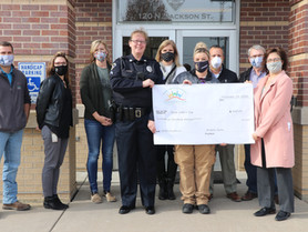 PCCF Spreads Holiday Cheer, Supports Shop with a Cop