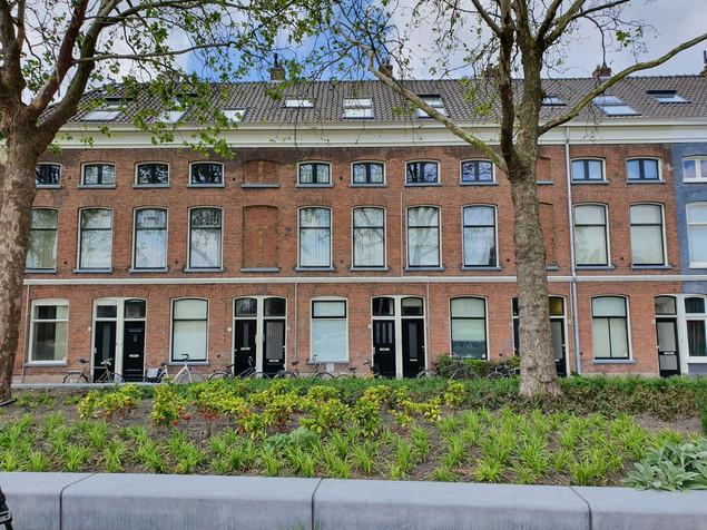 Buitenschilderwerk in Delft