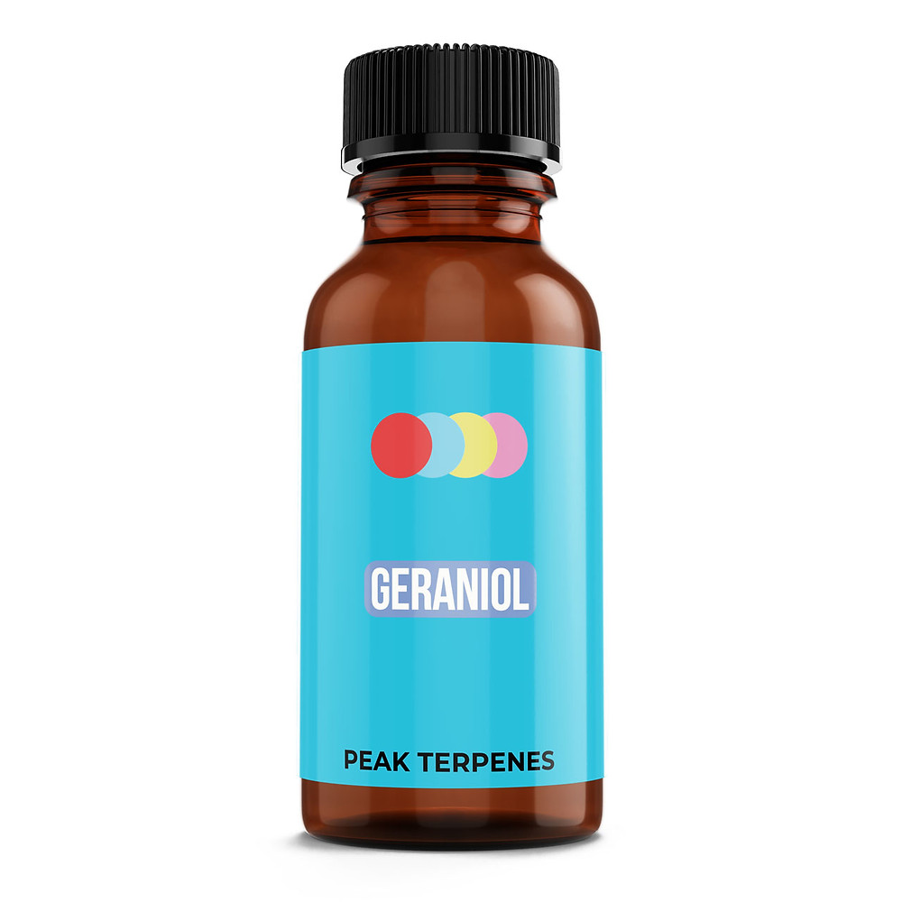 Geraniol Terpene Isolate by Peak Supply Co