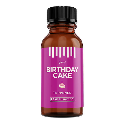 birthday cake terpene profile