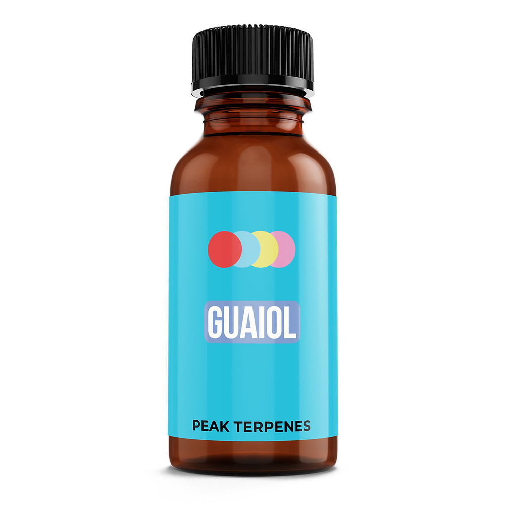 Guaiol terpene isolate for sale by peak supply co