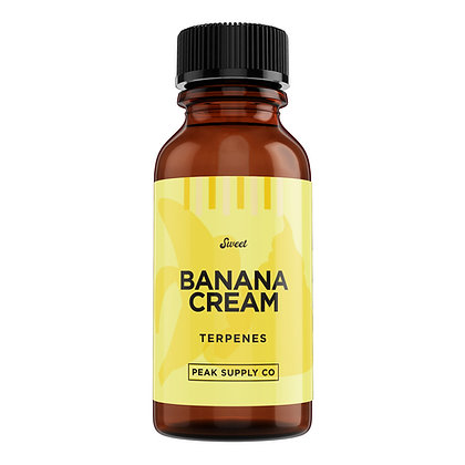 Banana Cream terpene profile