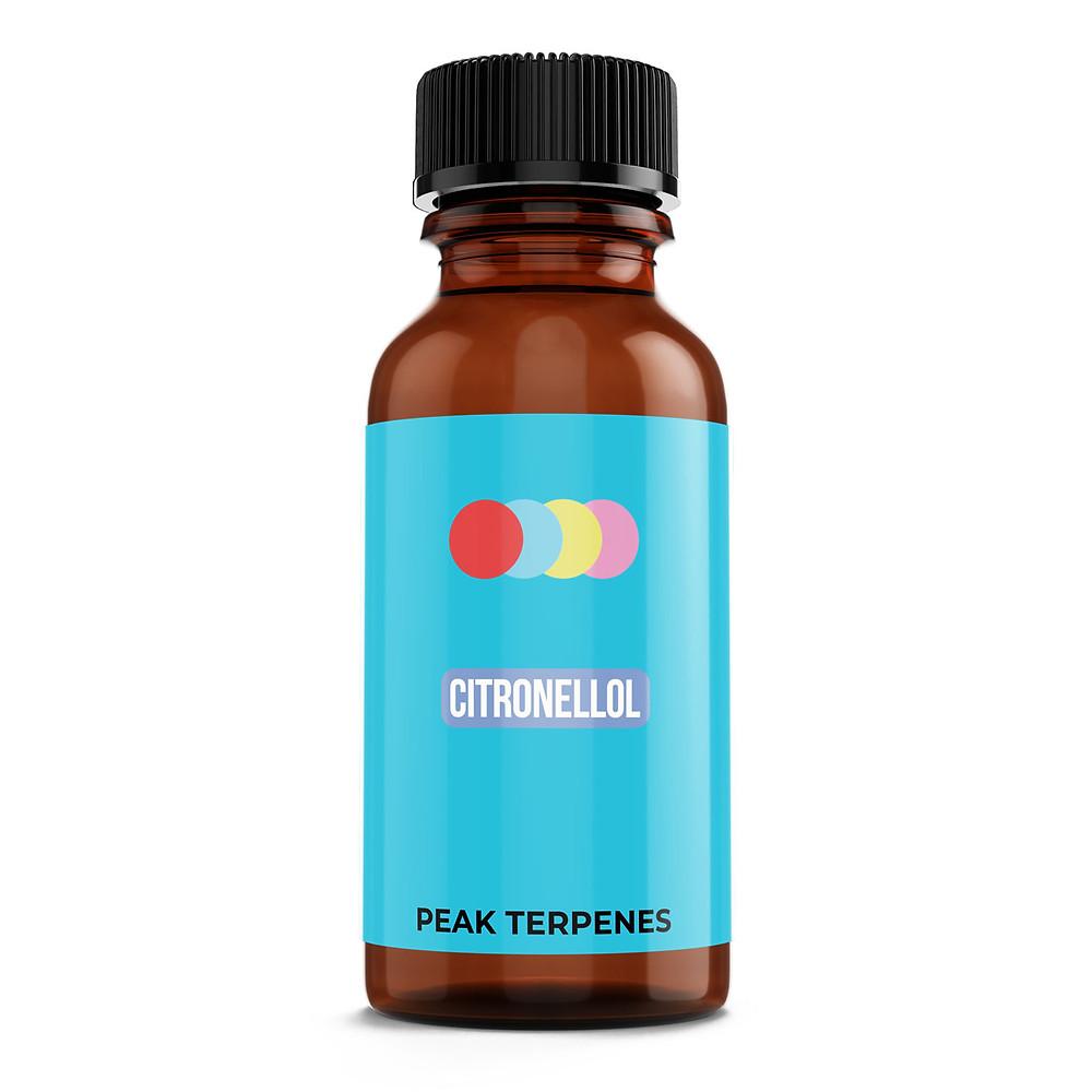 Buy Citronellol terpene isolates by peak supply co