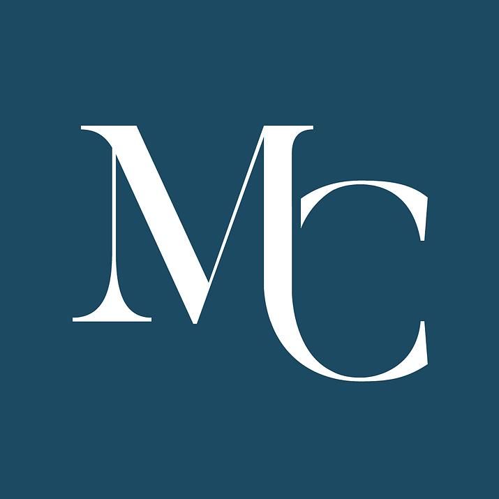 Michelle Collins Ligature [White on Blue