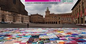 """Le Donne del Vino dell'Emilia-Romagna a """"Piazza Maggiore (BO) """"coperta"""""""