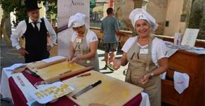 Le Donne del Vino  Emilia-Romagna con Le Mariette per la sfoglia record